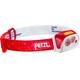 Petzl Actik Core - Linterna frontal - rojo/blanco